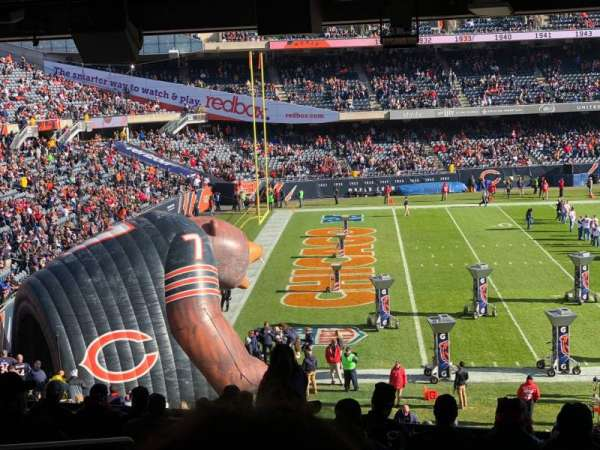 Soldier Field, section: 242, row: 12, seat: 5