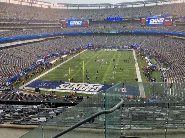 MetLife Stadium, section: 225B, row: 3, seat: 1