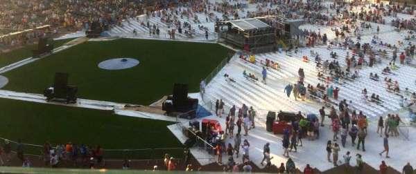 Wrigley Field, section: 326R, row: 1, seat: 19