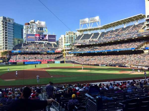 PETCO Park, section: 112, row: 27, seat: 1