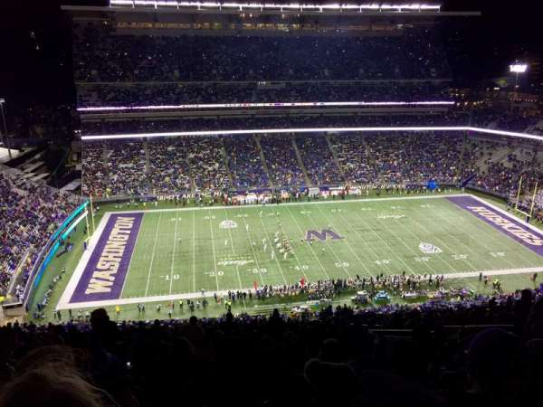 Husky Stadium, section: 331, row: 50, seat: 12