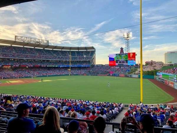 Angel Stadium, section: T229, row: D, seat: 19