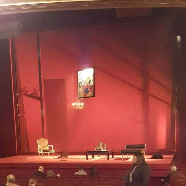 Ethel Barrymore Theatre, section: Orch, row: P, seat: 2