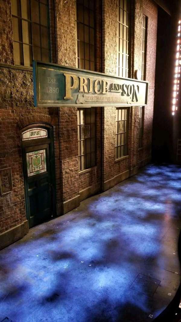 Al Hirschfeld Theatre, section: Box, row: AA, seat: 1