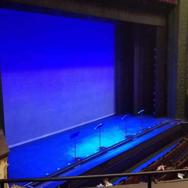 New York City Center, section: Grand Tier, row: C, seat: 21