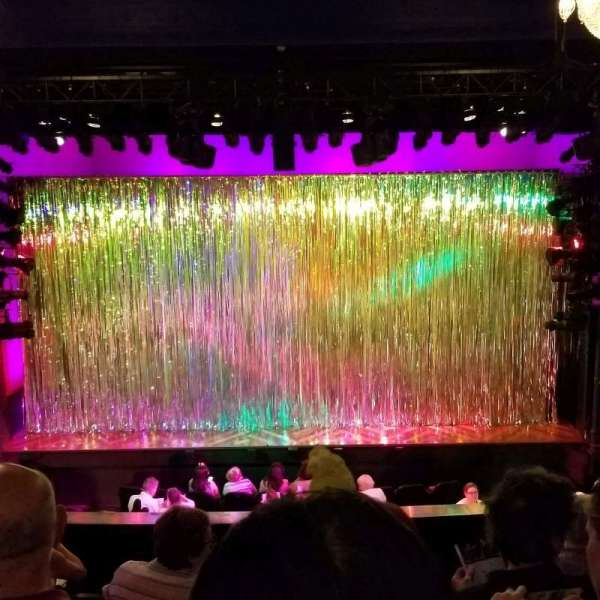 Hayes Theater, section: Mezz, row: F, seat: 106