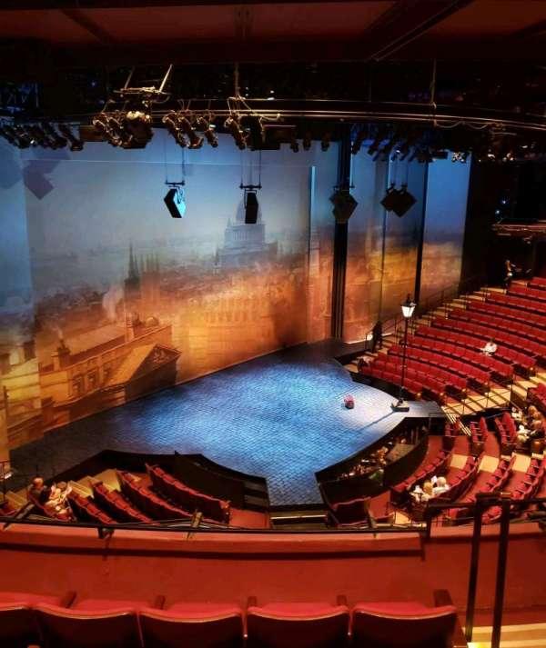 Vivian Beaumont Theater, section: Loge, row: D, seat: 104