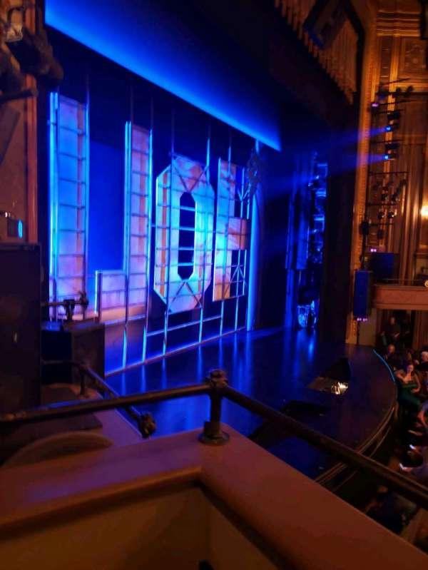 Nederlander Theatre, section: Left Box, row: E, seat: 2