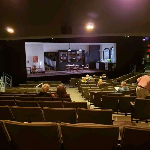 Laura Pels Theatre, section: Orch, row: Q, seat: 5