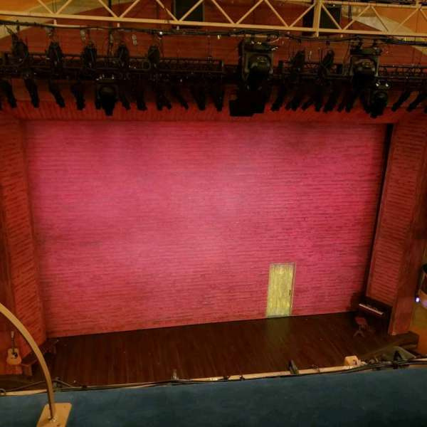 Shubert Theatre, section: Balcony, row: B, seat: 114