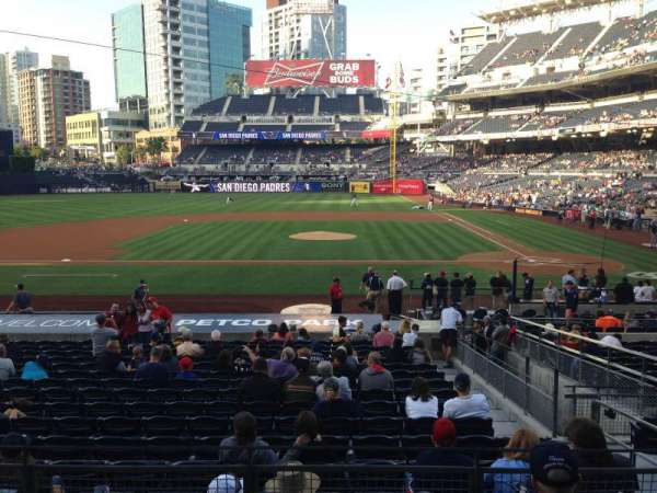 PETCO Park, section: 108, row: 26, seat: 4