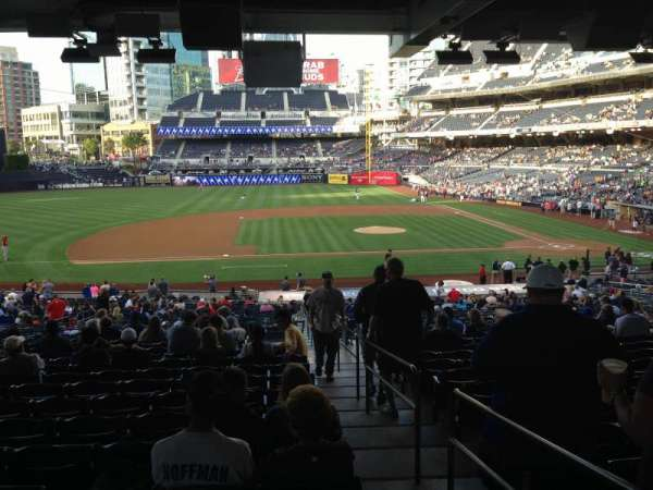 PETCO Park, section: 110, row: 41, seat: 1