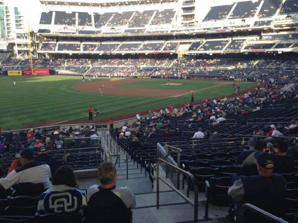 PETCO Park, section: 122, row: 35, seat: 1