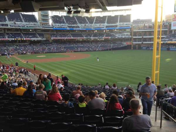 PETCO Park, section: 123, row: 43, seat: 24