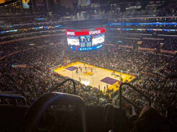 Staples Center, section: 331, row: 5, seat: 22