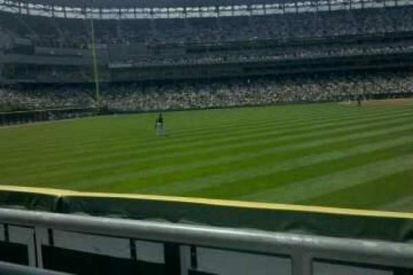 Guaranteed Rate Field, section: 162, row: 1, seat: 5
