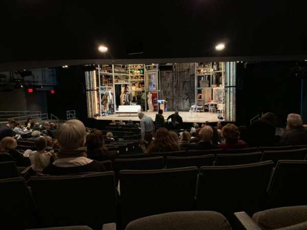 Laura Pels Theatre, section: Orchestra, row: Q, seat: 8