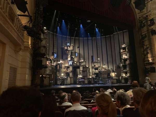 Samuel J. Friedman Theatre, section: Orchestra L, row: H, seat: 123