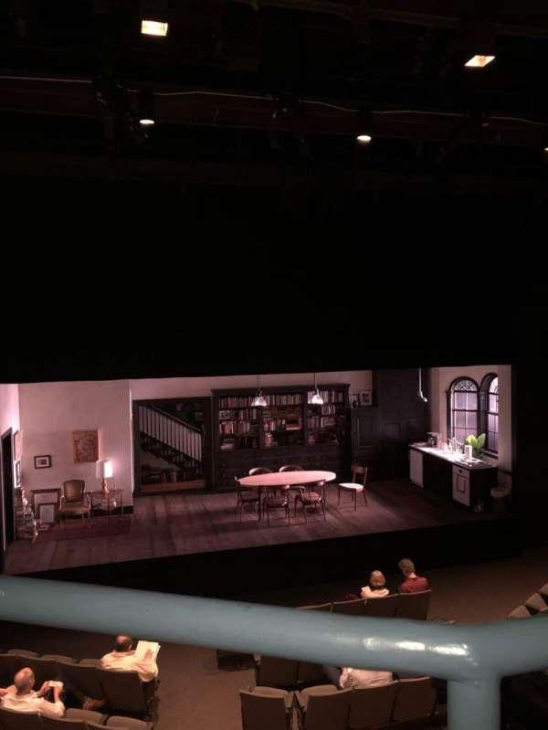 Laura Pels Theatre, section: Mezz, row: AA, seat: 112