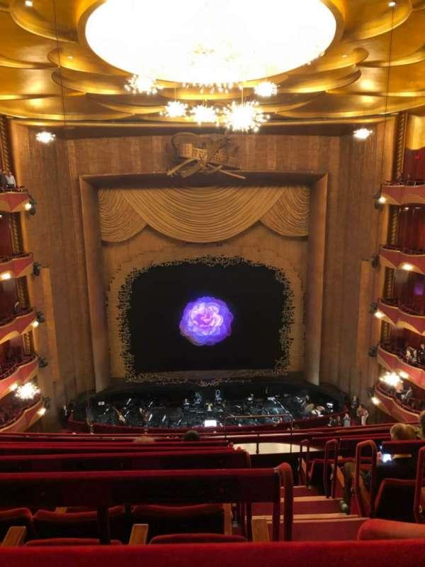 Metropolitan Opera House - Lincoln Center, section: Bakcony, row: G, seat: 103