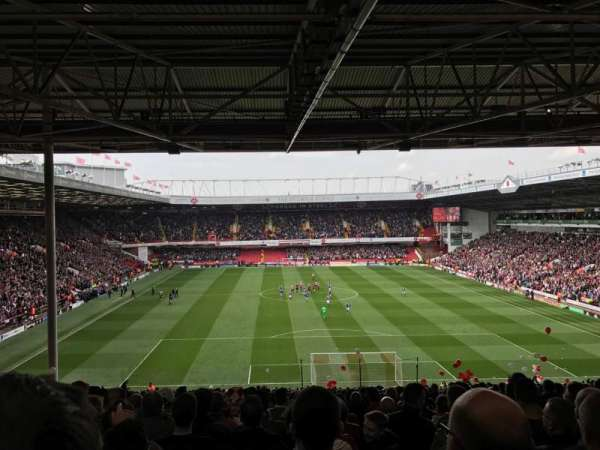 Bramall Lane, section: KOP Stand, row: AB, seat: 86