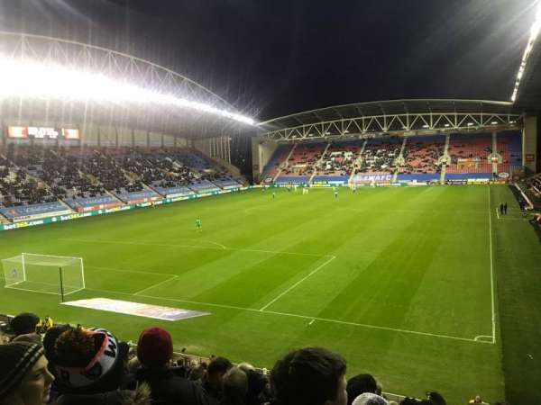 DW Stadium, section: A2, row: X, seat: 22