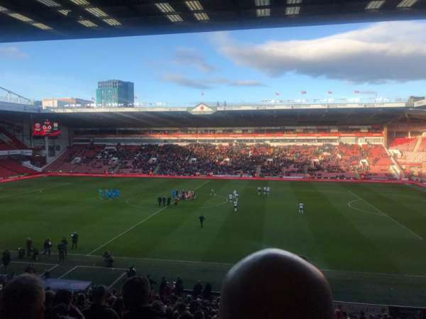 Bramall Lane, section: South Stand, row: DD, seat: 65
