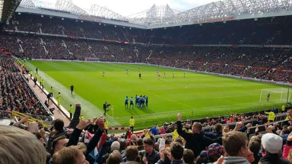 Old Trafford, section: E232, row: 13, seat: 21