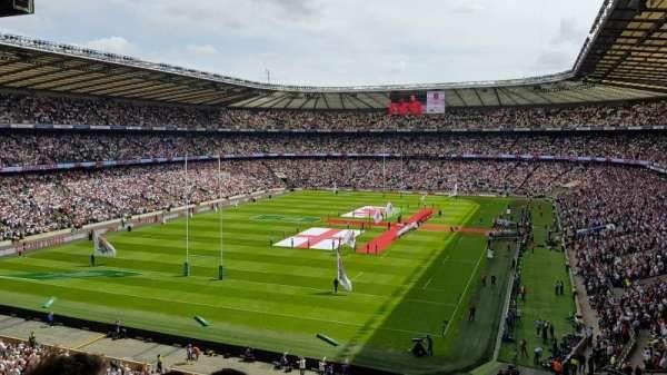 Twickenham Stadium, section: M17, row: 68, seat: 38