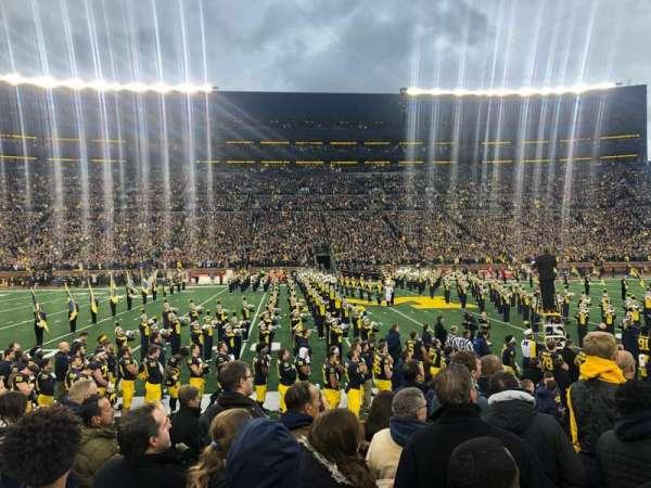Michigan Stadium, section: 24, row: 6, seat: 23