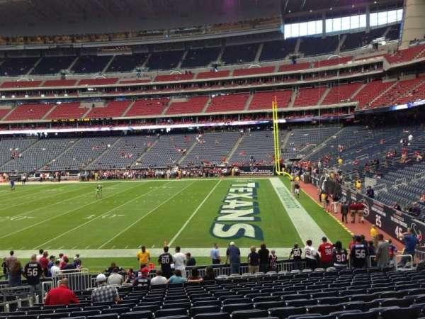 NRG Stadium, section: 122, row: T, seat: 16