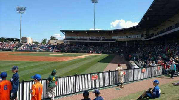 Fluor Field, section: lawn