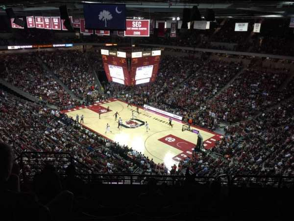 Colonial Life Arena, section: 204, row: 11, seat: 14