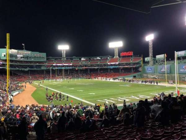 Fenway Park, section: Right Field Box 2, row: 3, seat: 16