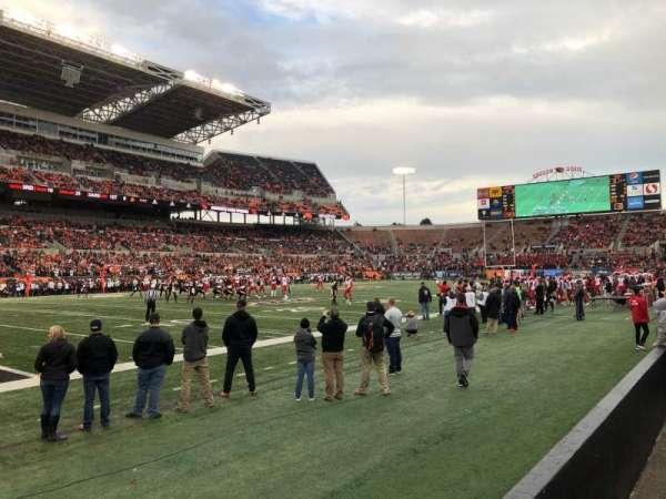 Reser Stadium, section: 16, row: 2, seat: 25