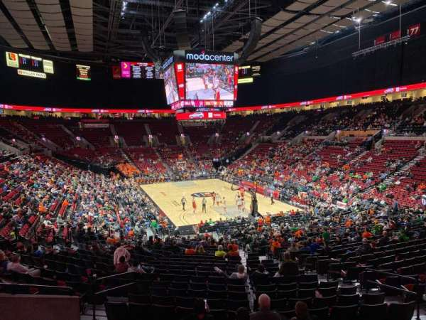 Moda Center, section: 210, row: F, seat: 5