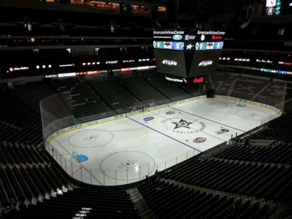 American Airlines Center, section: 331, row: A, seat: 1