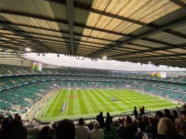 Twickenham Stadium, section: U37, row: M, seat: 351
