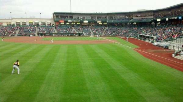 Parkview Field, section: 118, row: A, seat: 1