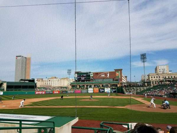 Parkview Field, section: 111, row: L, seat: 10