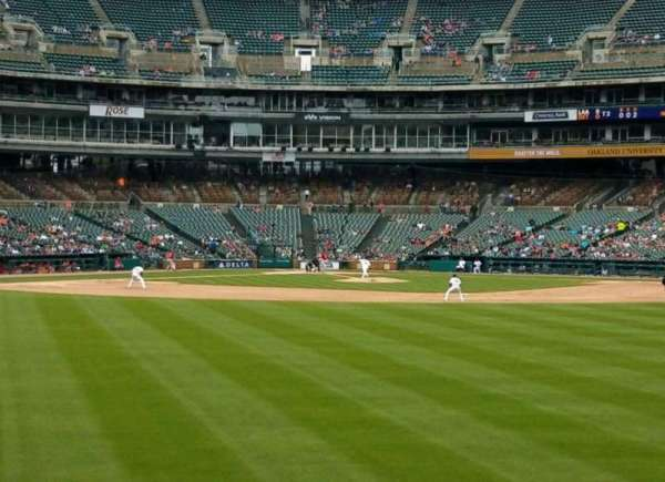 Comerica Park, section: 101, row: F, seat: 11