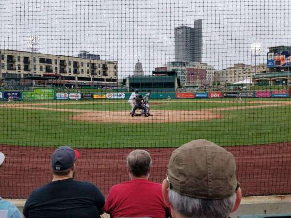 Parkview Field, section: 108, row: D, seat: 6