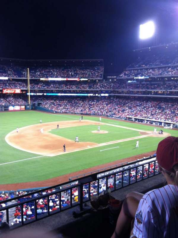 Citizens Bank Park, section: 232, row: 3, seat: 7