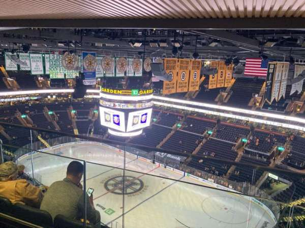 TD Garden, section: Rafters 37, row: A, seat: 6