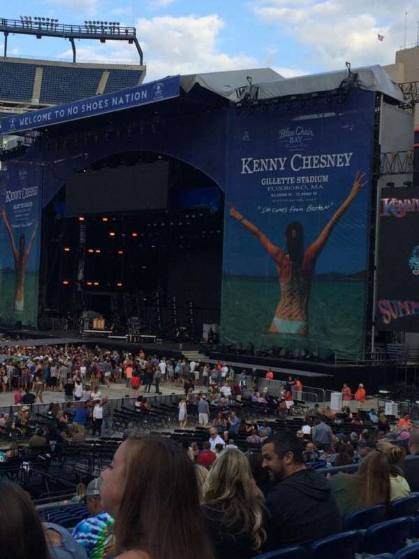 Kenny Chesney Summer Of 17, section: 131, row: 20, seat: 14