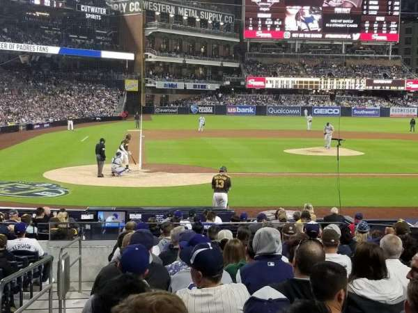 PETCO Park, section: 105, row: 16, seat: 1