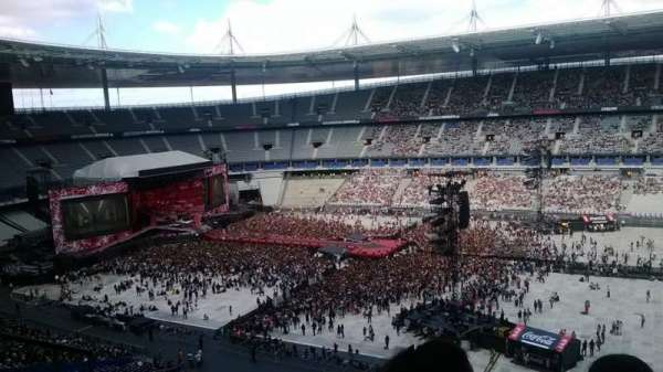 Stade de France, section: U4, row: 63, seat: 28