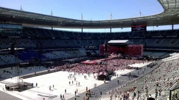 Stade de France, section: B11, row: 47, seat: 14