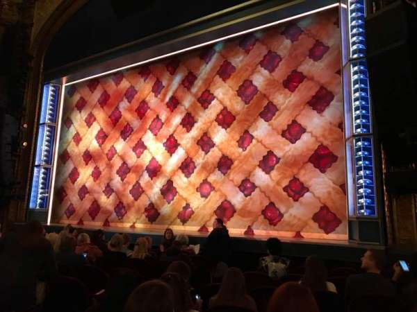 Brooks Atkinson Theatre, section: ORCHR, row: G, seat: 10