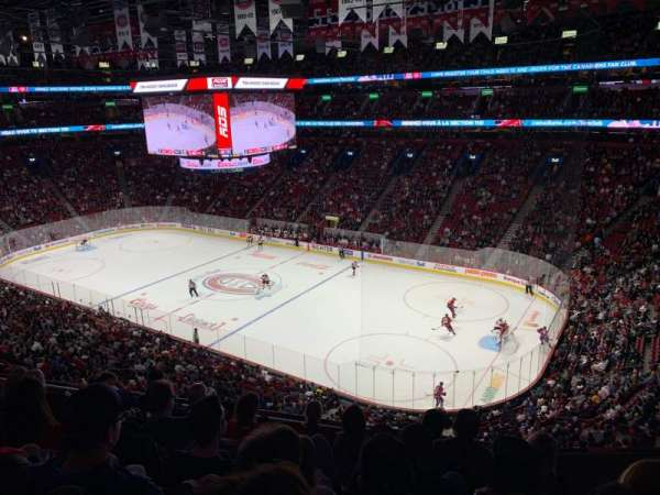 Centre Bell, section: 210, row: F, seat: 9
